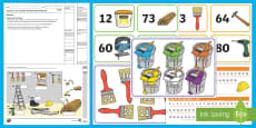 * NEW * Semester 1 Year 2 Number and Place Value Maths Test