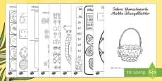 Ostern thematisierte Mathe Arbeitsblätter