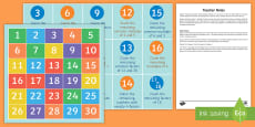 * NEW * Number Properties Collecting Numbers Game