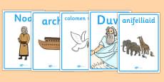 Posteri geirfa Arch Noa