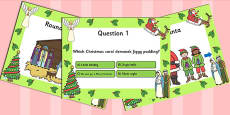 Christmas Themed Quiz PowerPoint