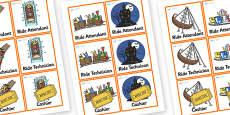 Theme Park Role Play Badges
