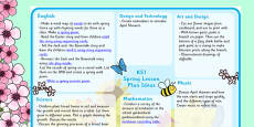 Spring KS1 Lesson Plan Ideas