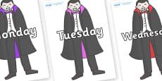Days of the Week on Vampires