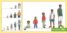 Growing Up Cut-Outs