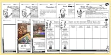 Activity Sheets Pack to Support Teaching on Charlie and the Chocolate Factory