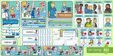 Hospital Aistear Pack as Gaeilge Display Pack