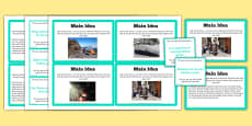 Guided Reading Skills Task Cards Main Idea