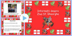 St George\'s Day Information PowerPoint Romanian