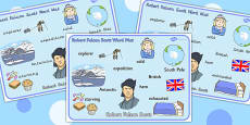 Robert Falcon Scott Word Mat