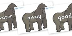 Next 200 Common Words on Gorillas
