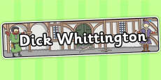 Dick Whittington Display Banner