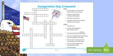 Inauguration Day Crossword