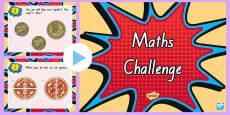 Maths Challenge PowerPoint