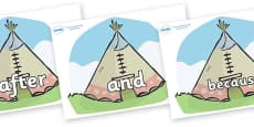 Connectives on Tipis