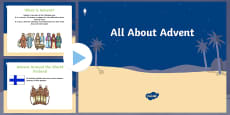 EYFS All About Advent PowerPoint