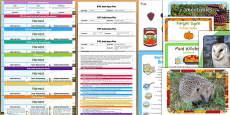 EYFS Harvest Themed Bumper Planning Pack
