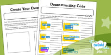 PlanIt - Computing Year 6 - Scratch Animated Stories Unit: Home Learning Tasks