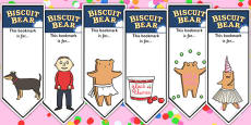 Editable Bookmarks to Support Teaching on Biscuit Bear