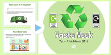 Waste Week 2016 PowerPoint