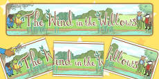 The Wind in the Willows Display Banner