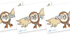 Wow Words on Hullabaloo Owl to Support Teaching on Farmyard Hullabaloo