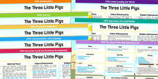 EYFS The Three Little Pigs Lesson Plan and Enhancement Ideas
