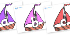 Phoneme Set on Sailing Boats to Support Teaching on Where the Wild Things Are
