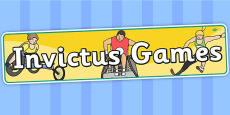 Invictus Games Display Banner