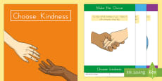 Choose Kindness Read and Discuss Activity Booklet