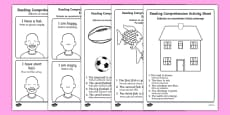 Reading Comprehension Activity Sheets English/Polish