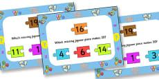 Number Bonds To Twenty Jigsaw PowerPoint