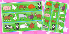 Display Borders to Support Teaching on Farmyard Hullabaloo