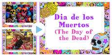 Mexican Day of the Dead Photo PowerPoint