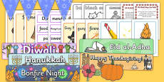 Autumn Term Festival and Celebrations Display Pack