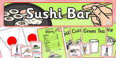 Sushi Bar Role Play Pack