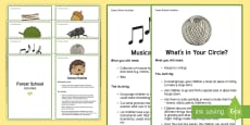 Forest School Activities Challenge Cards