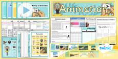 PlanIt - Computing Year 4 - Animation Unit Pack