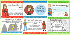 Challenge Posters to Support Teaching on The Tunnel by Anthony Browne