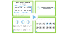 Year 3 Inverse Lesson 1 Creating Addition and Subtraction Calculations PowerPoint