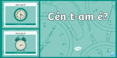 An Chlog, Mixed Time PowerPoint Gaeilge