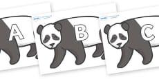 A-Z Alphabet on Pandas