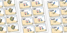 Penguin Themed Editable Book Labels