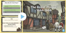The Great Plague Information PowerPoint