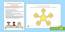 * NEW * Mindfulness Calming Corner Teaching Ideas