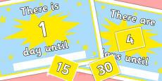 Countdown Calendar Editable