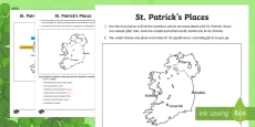 * NEW * St. Patrick's Places Map