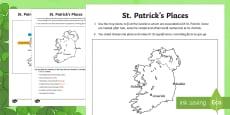 St. Patrick's Places Map