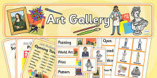 Art Gallery Role Play Pack