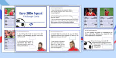 Euro 2016 Challenge Cards and Top Cards Pack